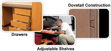 Classic Series Garage Storage Cabinets Slide Lok Of Houston